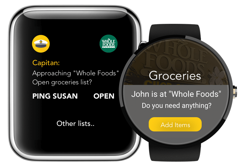 shopping list apple watch app